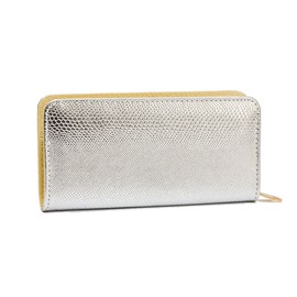 Ericdress Long Type Solid Color Zipper Wallet