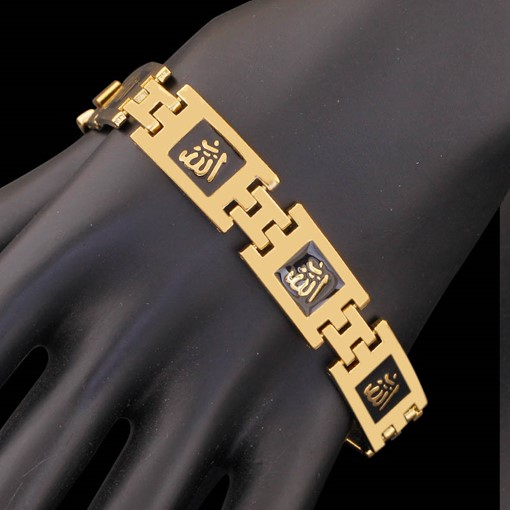 Ericdress Exotic 18K Gold Plating Copper Accessories Men's Bracelet
