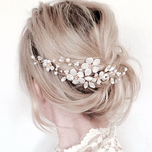 Ericdress Graceful Handmade Pearl Women's Hair Accessories