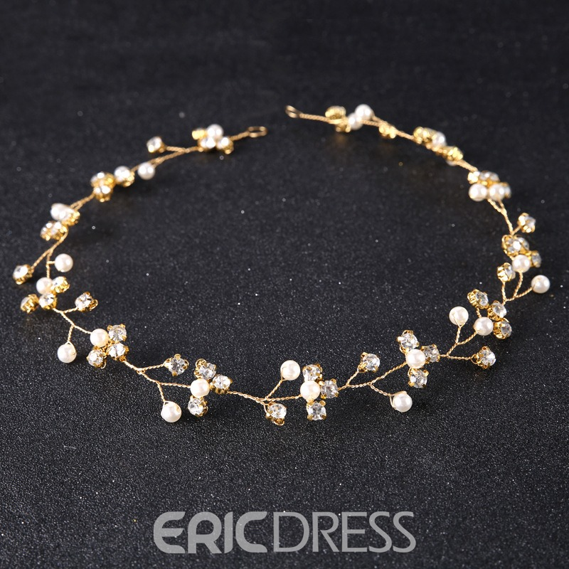 Ericdress Sparkling Imitation Pearl Rhinestone Women's Hair Accessories
