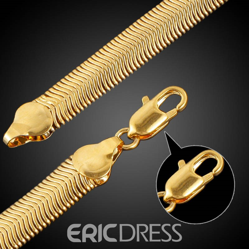 Ericdress Korean Style 18K Gold Plating Men's Bracelet