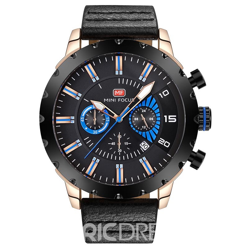 Ericdress JYY Fashionable Waterproof Quartz Men's Watch with Calendar