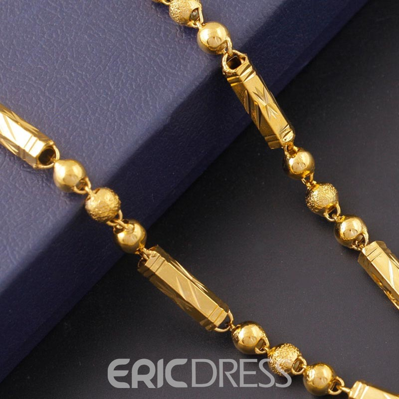 Ericdress National Style 18K Gold Plating Men's Necklace