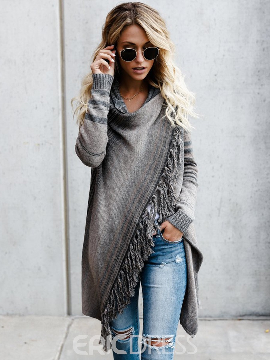 Regular Mid-Length Fall Sweater