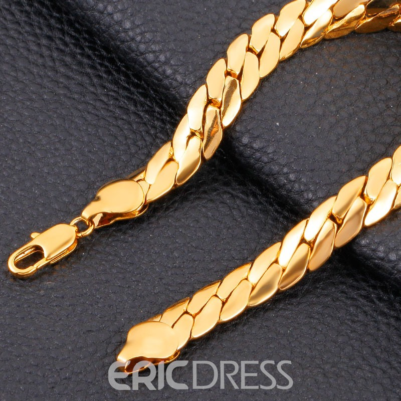 Ericdress 18K Gold Plating Necklace for Men