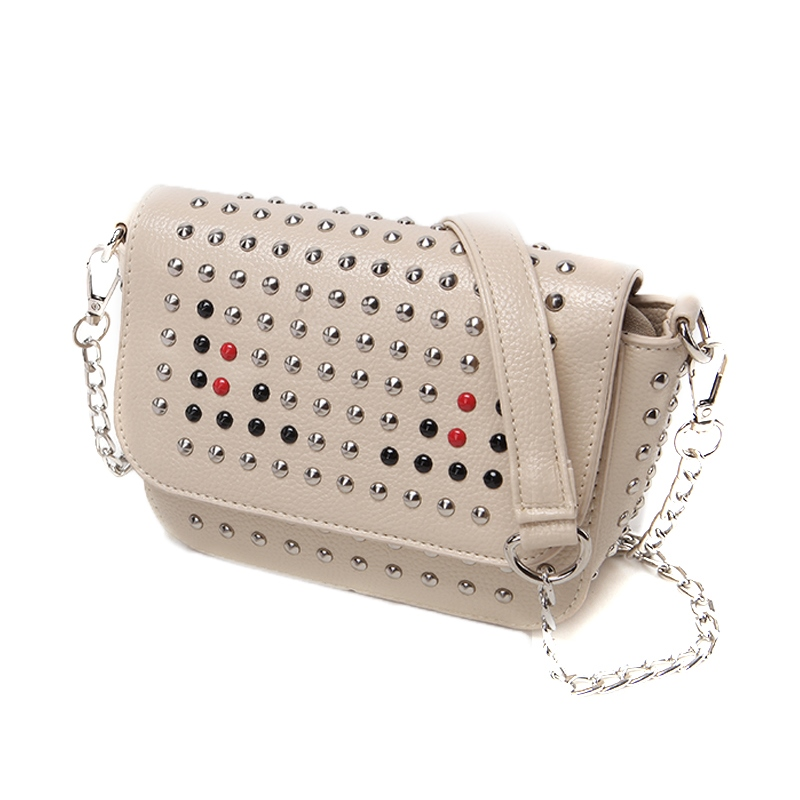 Ericdress Casual Rivet Adornment Crossbody Bag