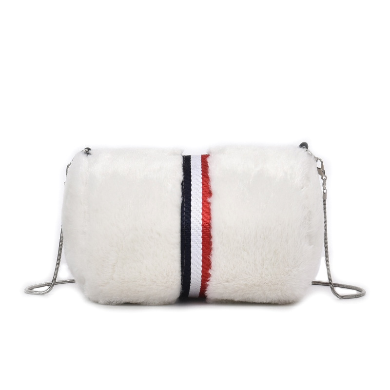 Ericdress Korean Style Soft Plush Crossbody Bag