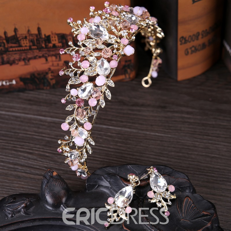 Ericdress 2017 New Style Romantic Fully Jewelled Women's Hair Accessories