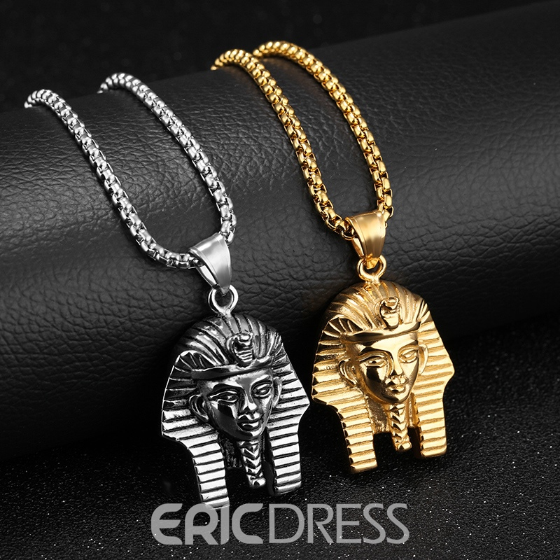 Ericdress Hot Pharaoh Pendant Hip Pop Men's Necklace