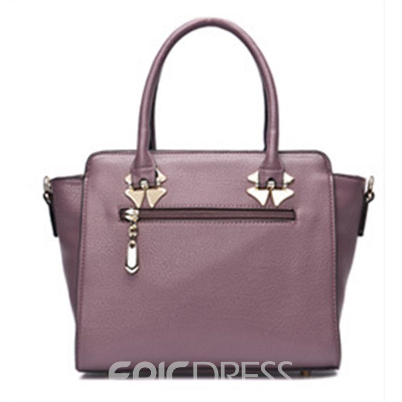 Ericdress Casual Huge Space Zipper Women Handbag