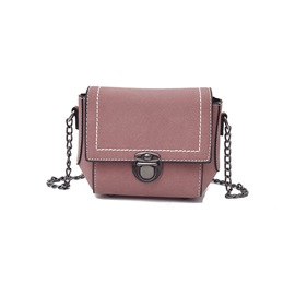 Ericdress Solid Color Mini Chain Crossbody Bag