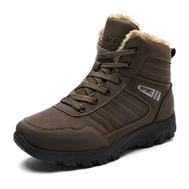 Ericdress Outdoors Lace-Up Plain Men's Boots