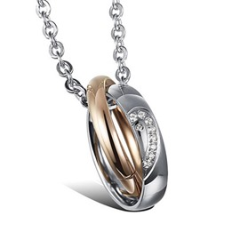 Ericdress Creative Titanium Steel Men's Pendant Necklace