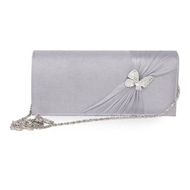 Ericdress Bow Decoration Chain Evening Clutch