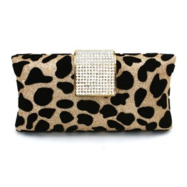Ericdress Suede Leopard Pattern Women Clutch