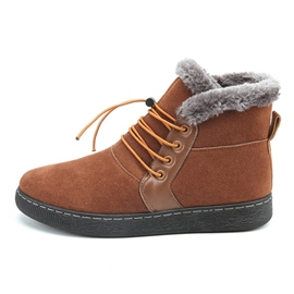 Ericdress Fuzzy Lace-Up Patchwork Plain Men's Boots