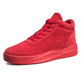 Ericdress Fashion High-Cut Lace-Up Men's Athletic Shoes