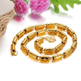 Ericdress Popular 18k Gold Plating Necklace for Men