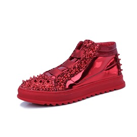 Ericdress Sequin Slip-On Patchwork Men's Sneakers