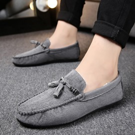 Ericdress Warm Slip-On Plain Men's Loafers