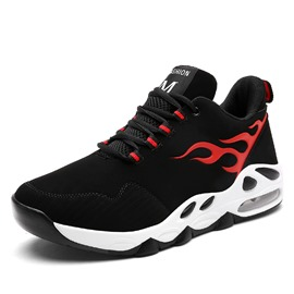 Ericdress Flame Color Block Patchwork Men's Athletic Shoes