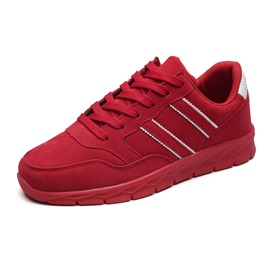 Ericdress Lace-Up Mid-Cut Plain Men's Athletic Shoes