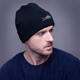 Ericdress Chic Pure Color Letter Printed Brimless Hat for Men