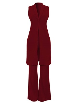Ericdress Vest and Pants Women's Suit