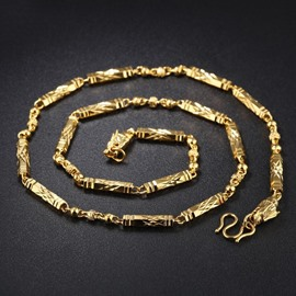 Ericdress High Quality Men's 18K Gold Plating Necklace
