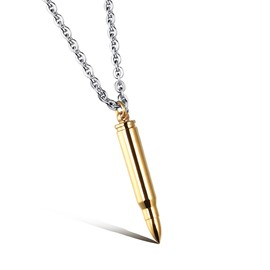 Ericdress Bullet Pendant Necklace