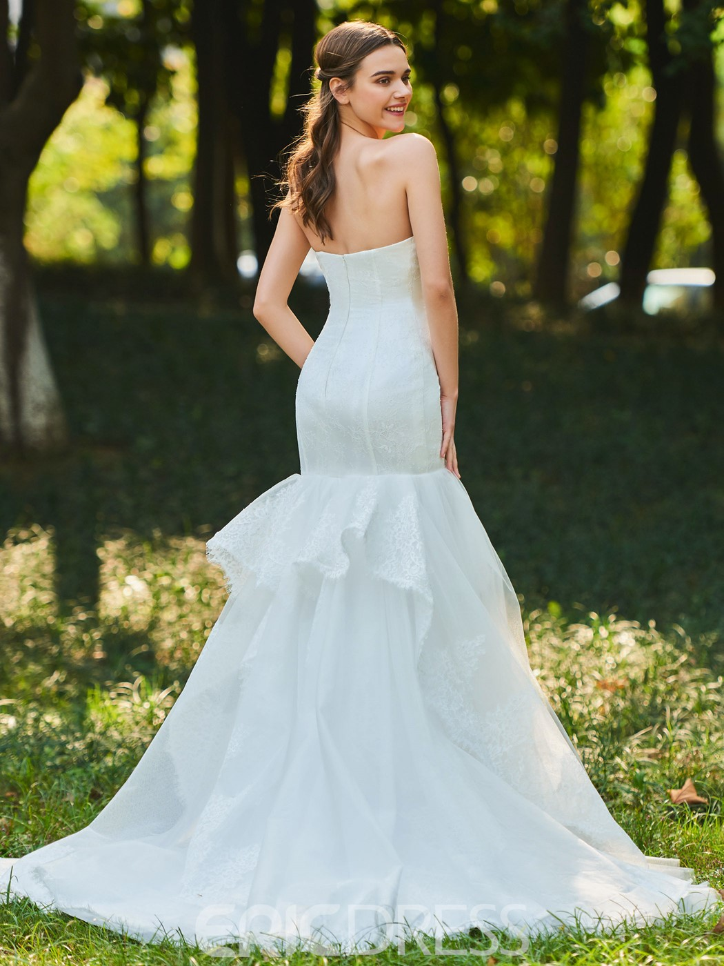 Ericdress Sweetheart Mermaid Tulle Wedding Dress