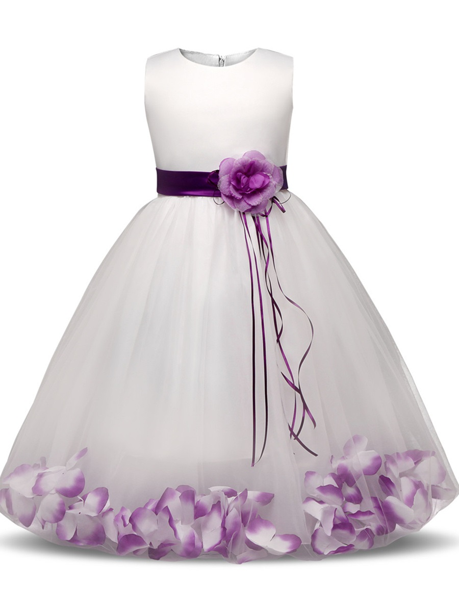 Ericdress Ball Gown Tulle Ankle-Length Flower Girl Party Dress