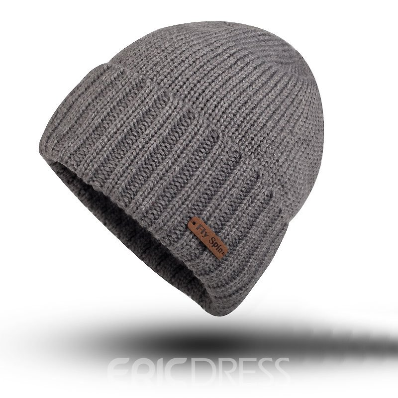 Ericdress Pure Color Warm Men's Hat
