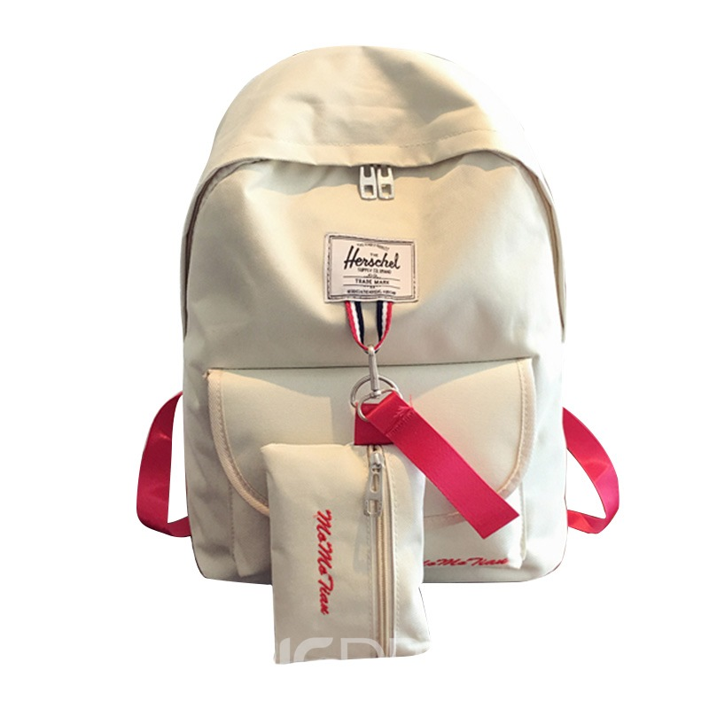 Ericdress Casual Soft Oxford Backpack (Two Bags Set)