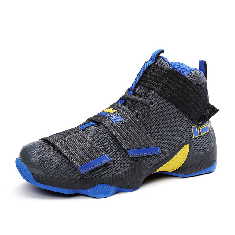 Ericdress Color Block Velcro Patchwork Men's Athletic Shoes