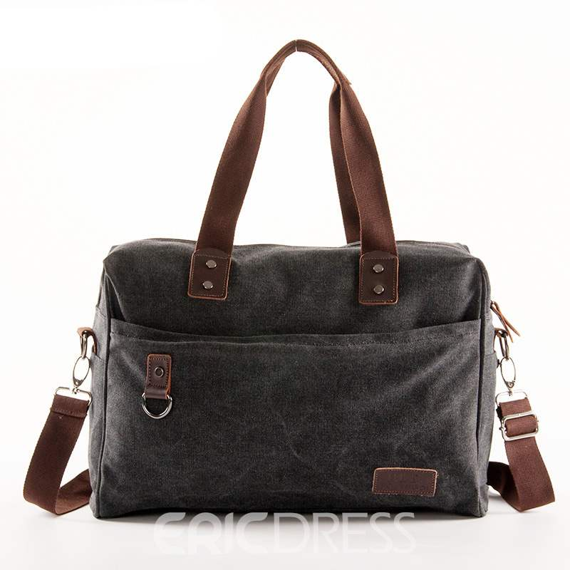 Ericdress Casual Canvas Zipper Men's Bag