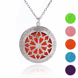 Ericdress Womens Essential Oil Pendant Necklace