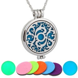 Ericdress Womens Essential Oil Necklace