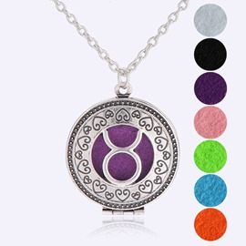 Ericdress Taurus Women's Pendant Ultra Violet Essential Oil Necklace