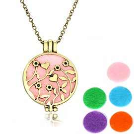 Ericdress Retro Essential Oil Necklace for Women