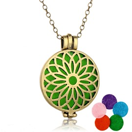 Ericdress Vintage Hollow Out Women's Essential Oil Necklace