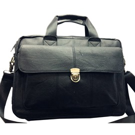 Ericdress Occident Style Solid Color Men's Bag