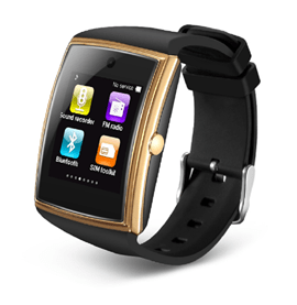 Ericdress LG-518 Smartwatch with Camera/NFC IPS Curved Screen Fitness Tracker for iPhone Android