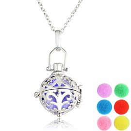 Ericdress DIY Ultra Violet Women's Essential Oil Necklace