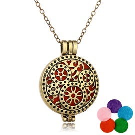 Ericdress Royal Style Women's Pendant Essential Oil Necklace