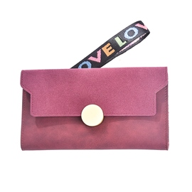 Ericdress Candy Color Matting Women Wallet