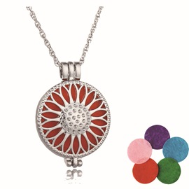 Ericdress Romantic Multicolor Women's Essential Oil Necklace