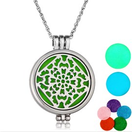 Ericdress Hollow Out Women's Essential Oil Necklace