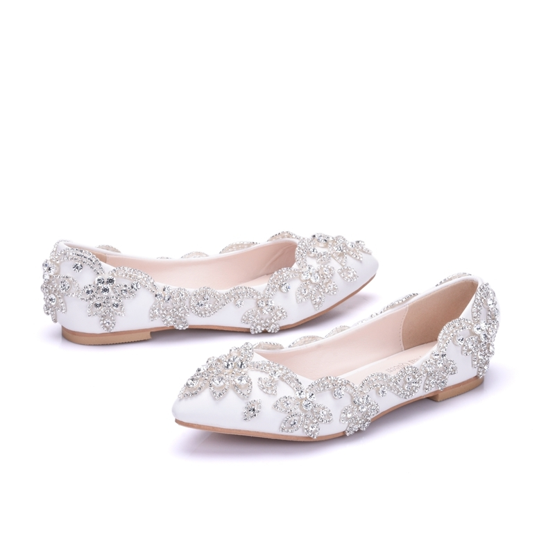 Ericdress Chic Rhinestone Plain Wedding Shoes