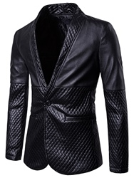Ericdress Notched Lapel Fit Mens Casual Blazer